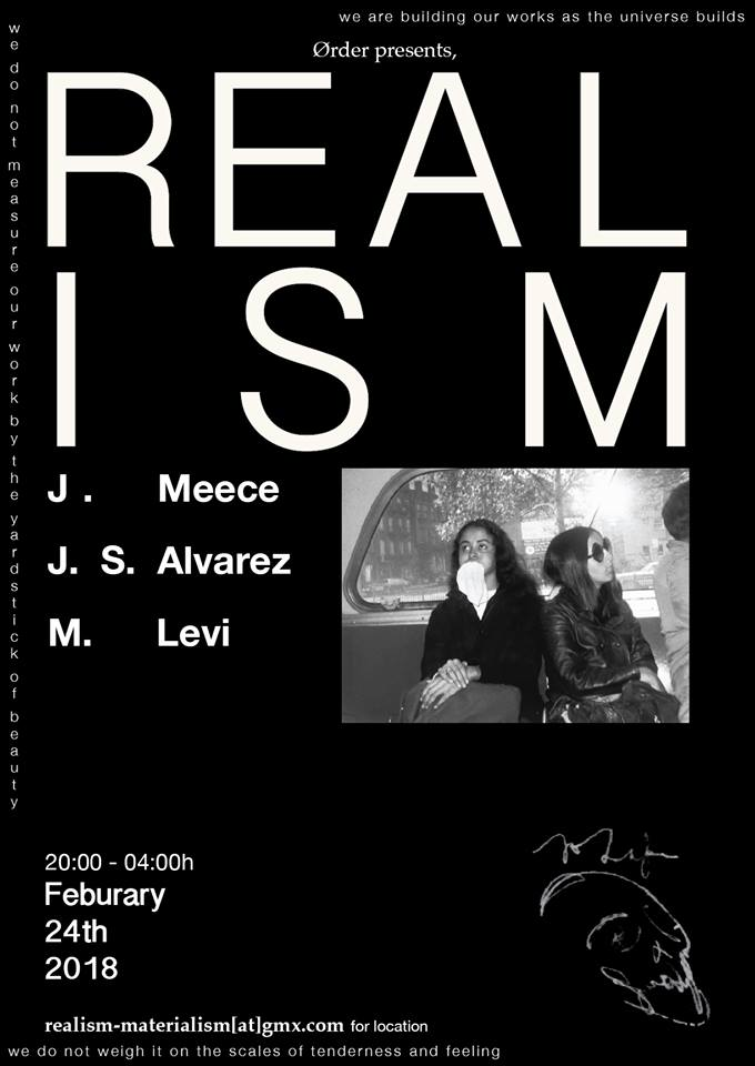 Jeremiah Meece + J. S. Alvarez + Cultergeist / M. Levi