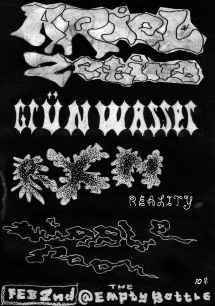Wiggle Room + RXM Reality + Grün Wasser + Ariel Zetina